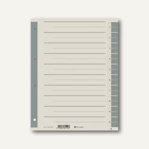 officio Trennblätter DIN A4, 230 g/m², farbig grau, 100 Stück - Vorschau