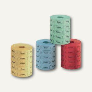 Herlitz Essensmarken, nummeriert, einfarbig, 5 x 1.000 Stück, 791798