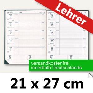 """Quo Vadis Lehrerkalender """" Magister"""" 21 x 27 cm, 1 Woche/1 Seite, schwarz, 626004Q"""