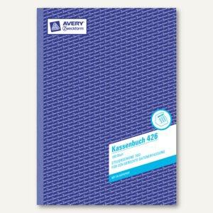 Kassenbuch A4, EDV-gerecht nach Steuerschiene 300, BP, 100 Blatt, 426