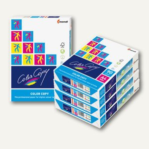 mondi ColorCopy Farbkopierpapier, DIN A4, 90g/m², 2.500 Blatt, 9003974416342