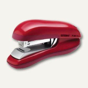 Rapid Tacker Heftgerät F30 Flat-clinch, ABS-Kunststoff, rot, 23256502