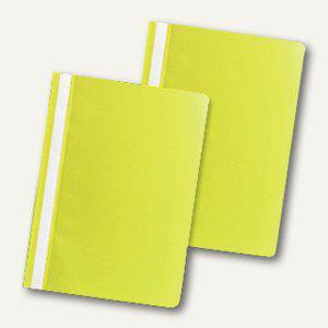 officio Schnellhefter DIN A4, PP, gelb, 50er Pack, 312702 - Vorschau