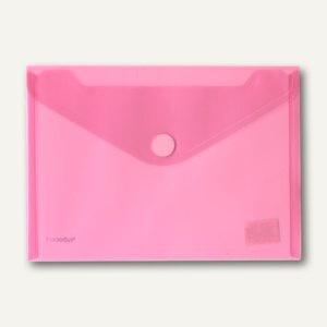 FolderSys Dokumententaschen, DIN A5 quer, Klett, rot, 100 St., 40102-84