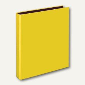 Ringbücher VELOCOLOR A4, Karton, 2 D-Ringe Ø 25 mm, gelb, 10 Stück, 1141310