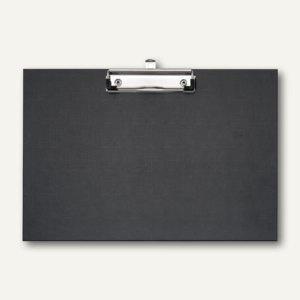 Veloflex Schreibplatte, DIN A4 quer, PP, Metallklemme, 10 Stück, 4817980