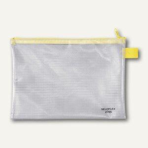 Veloflex Reißverschlusstasche, A5, PVC gewebeverstärkt, 10 Stück, 2705000