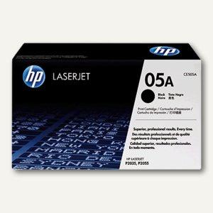 HP Lasertoner Nr. 05A, schwarz, CE505A