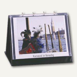 Durable Tisch-Flipchart, DIN A3 quer, 450 x 365 x 330 mm, schwarz, 8572-01