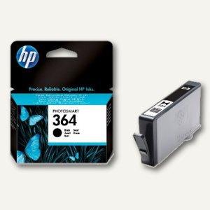 HP Tintenpatrone Nr. 364 für Photosmart 5380, ca. 250 Seiten, schwarz, CB316EE