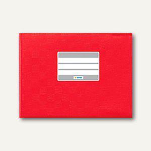 Herma Heftschoner DIN A5 quer, , PP, rot gedeckt, 50 Stück, 7412 - Vorschau