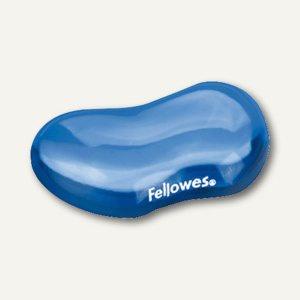 Fellowes Handgelenkauflage Flex-Auflage, aus transparentem Gel, blau, 91177-72 - Vorschau
