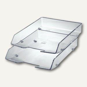 HAN Briefkorb Wave Exclusiv, glasklar, 1028-23