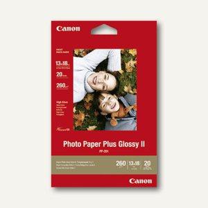 "Canon Fotoglanzpapier "" Plus II PP-201"", 13 x 18 cm, 260g/m², 20 Blatt, 2311B018"