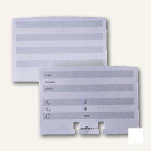 Durable Ersatzkarten für Adresskarteien TELINDEX, 100er Pack, 2419-02 - Vorschau