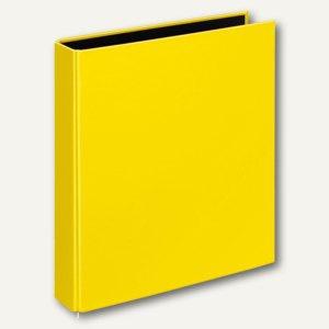 Ringbücher VELOCOLOR A5, Karton, 2 D-Ringe Ø 25 mm, gelb, 10 Stück, 1151310