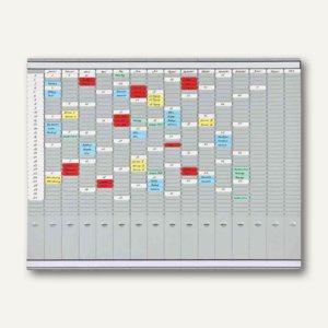 Franken T-Steckkartentafel OfficePlaner, 1.008 x 783 mm, 16 x 35 Schlitze, PV1015