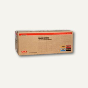 OKI Toner Rainbow Kit, je ca. 15.000 Seiten, CMYK, 4St., 43112702