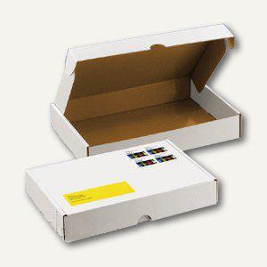 Deckelbox mit Verschlussklappen DIN A5, 245 x 175 x 42 mm, weiß, 100 St. - Vorschau