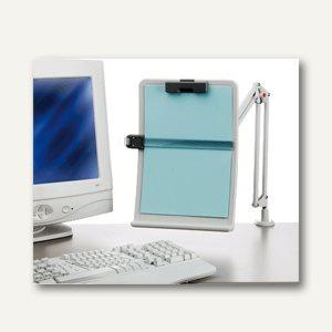 Exponent WORLD Konzepthalter, DIN A4, hellgrau, Metall/Kunststoff, 56106