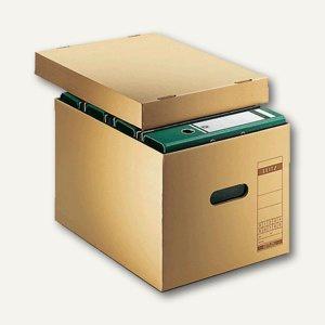 LEITZ Leitz Archiv/Transport-Schachteln für DIN A4, 340x275x455mm, 6081-00-00