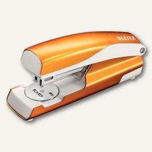Heftgerät NeXXt WOW 5502, 30 Blatt, Oberlademechanik, orange-metallic