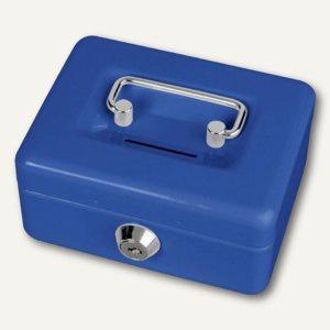 MAUL Geldkassetten mit Münzeinwurf, 12.5 x 9.5 x 6 cm, blau, 5603037