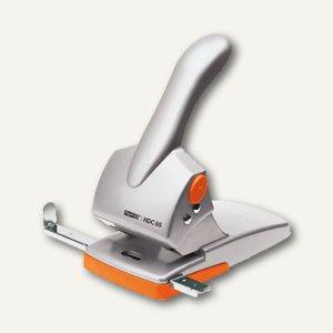 Rapid Locher HDC65, bis 65 Blatt, Metall, silber/orange, 20922603