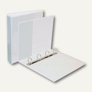 Ringbuch PP DIN A4, 4-Ring-Mechanik, 62mm, transparent, 10er Pack, 17744086
