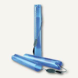 Zeichenrollen-/Flipchart-Köcher, verstellbar bis 1.000 mm, Ø80 mm, PP, blau