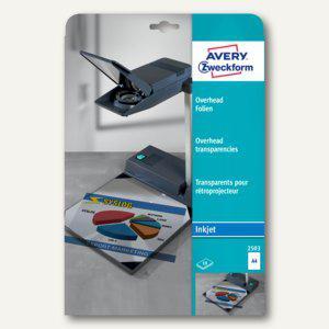 Zweckform OHP InkJet Folie DIN A4, 0.11 mm, transparent, 10 Stück, 2503 - Vorschau