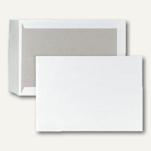 officio Papprückwandtasche C4, haftklebend, 120 g/m², weiß, 100 St., 2916