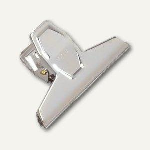 Brief-Klemmer Standard, B: 95mm, Klemmweite 25mm, vernickelt, 10 St., 2100996