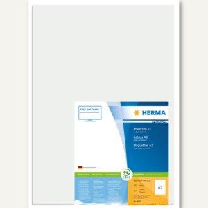 Herma Universal-Etiketten PREMIUM A3, 297x420 mm, weiß, 100 St., 8692
