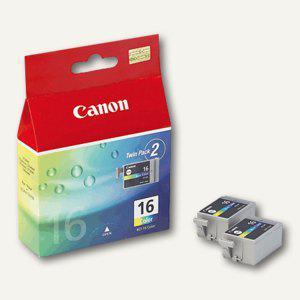 Canon Tintentank color, DS700, 2er Pack, BCI-16C, 9818A002 - Vorschau