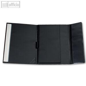 MAUL Schreibmappe On Tour, DIN A4, 6-Jahreskalender, schwarz, 2361190