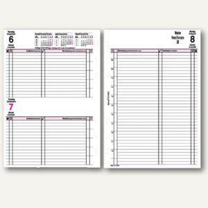 bind Kalendereinlage für DIN A5 Planer, 1 Tag = 1 Seite, B-5503 - Vorschau