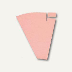 Ultradex Steckkarten für Planrecord Tafeln, 5 cm, rosa, 90er Pack, 140503