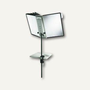 Sichttafelständer SHERPA® DESK CLAMP 10, Tischklemme, mit 10 Tafeln, 5818-00