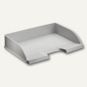 LEITZ Briefablage Plus Standard, DIN A4 quer, Überbreite, grau, 5 St., 5218-00-85