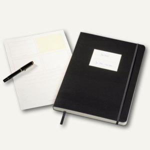 "Agenda Geschäftsbuch Master "" Classic"", DIN A4+, kariert, 240 nummerierte Seiten"