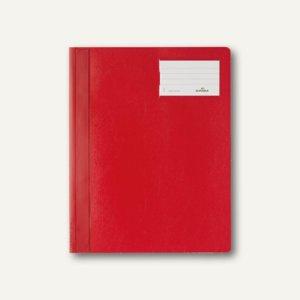 Durable Schnellhefter DIN A4+, mit Beschriftungsfenster, rot, 25 St., 2500-03