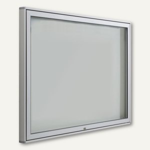 BST Außen-Schaukasten INTRO - 96 x 71 x 5.5 cm, 8x A4, Alu-Rahmen/eckig, INTRO-A8