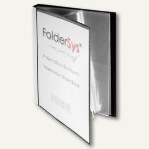 Präsentations-Sichtbuch DIN A4, incl. 40 Hüllen, schwarz, 20 Stück, 25014-30