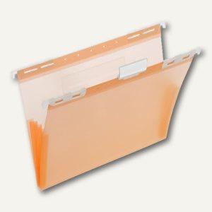 FolderSys PP-Hängemappe, CD Tasche innen, orange, 20 Stück, 70045-69
