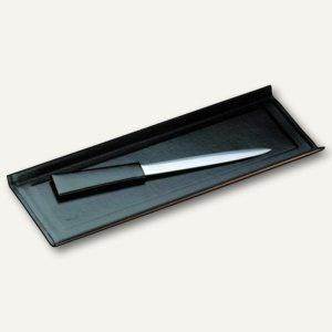 """Läufer """" Modena"""" Federschale aus glattem Rindsleder, schwarz, 31036 - Vorschau"""
