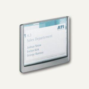Türschild CLICK SIGN 149 x 105.5 mm, Kunststoff, graphit, 2 Stück, 4861-37