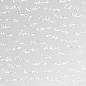 "Heyda Transparentpapier "" Einladung"", DIN A4, 115 g/m², 25 Blatt, 204878957"