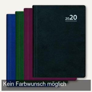 Taschenkalender, 1 Tag/1 Seite, 10 x 14 cm, liniert, Kunststoffeinband, 610-1001