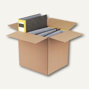 Versandkarton für 4-5 Ordner, 325 x 290 x 325 mm, braun, 10 St., 212100410